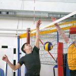 Блицтурнир по волейболу среди работников ОУ